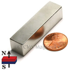 "Neodymium Magnet N45 2x1/2x1/2"" Rare Earth NdFeB Bar Magnet 2 PC"