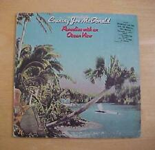 COUNTRY JOE MCDONALD VINYL RECORD LP ~ PARADISE WITH A VIEW