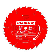 Freud D1024X Diablo 10-inch 24T ATB Ripping Table Saw Blade, 5/8-inch Arbor