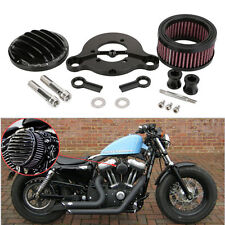 Air Cleaner Intake Filter System Kit for Harley sportster XL883 XL1200 2004-2015