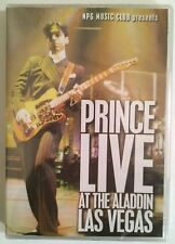 "Prince ""Live At The Aladdin Las Vegas"" DVD Import (2005) Brand New Sealed Rare!"