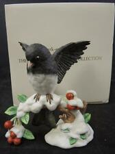 Lenox Garden Bird Collection * Dark Eyed Junco * Original Box * MIB
