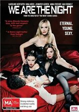 We Are The Night (DVD, 2012) Vampire Twilight Young. Sexy. [Region 4] NEW/SEALED