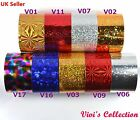 1m * 4cm Nail Art Space Foil Transfer Paper Nail Tips Glitter Decal Decoration