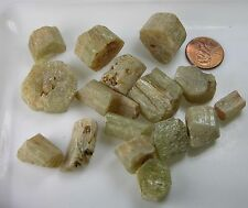 #4 Morocco 100% Natural  Yellow  Apatite Crystal Stick Specimens 500ct or 100g
