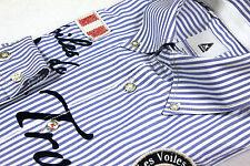 GAASTRA Cotton Men's Shirt Herren Hemd Gr. L gestreift blau COOL !