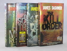 The Maze Runner by James Dashner (Books 1-4 in the Series) BRAND NEW
