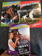 Lot of 3 Green Hill Stables Horse Books