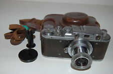 Zorki 1 Type C Vintage 1953 Export Soviet Rangefinder Camera With Case. (125953)