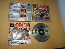 Resident EVIL PLATINUM PLAYSTATION 1 ps1 UK PAL