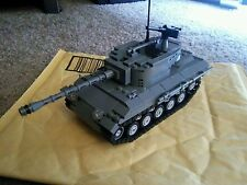 LEGO Hellcat Tank Destroyer custom USA German WW2 brickmania panzer kit