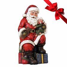 Weihnachtsmann Calmy Dekofigur Weihnachtsdekoration Nikolausfiguren Dekoration