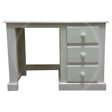 HAND MADE DEWSBURY FURNITURE DRESSING TABLE WHITE (ASSEMBLED)