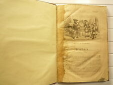 SD CROMWELL DE VICTOR HUGO ILLUSTRATIONS NB J A BEAUCE RELIURE AMATEUR