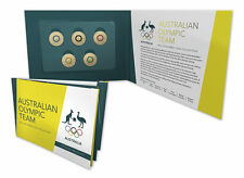 SOLD OUT - 2016 $2 Australian Olympic Team Coloured Coin Set Collection - UNC