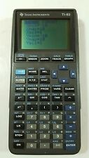Texas Instruments TI-82 Graphing Calculator with cover