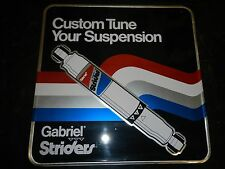 GENUINE VINTAGE RETRO METAL SIGN GABRIEL STRIDERS GREAT CONDITION
