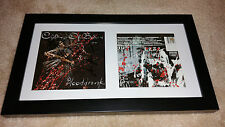 CHILDREN OF BODOM Blooddrunk SIGNED AUTOGRAPHED FRAMED CD DISPLAY Alexi Laiho #A
