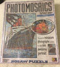 Photomosaics Jigsaw Puzzle 'Titanic' By Robert Silvers 1026 Pc. Sealed  3193