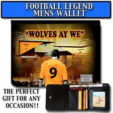 WOLVES AY WE WOLVERHAMPTON WANDERERS LEGEND MENS PU LEATHER WALLET GIFT