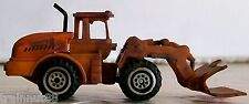 HO Customed Weathered,&Detailed-RUBBER TIRE FRONT END LOG LOADER-Black Exhaust