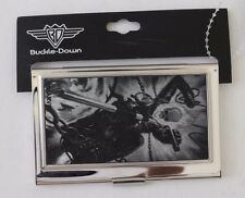 Marvel Buckle Down  - Ghost Rider- Metal Wallet Business Card Holder NWT
