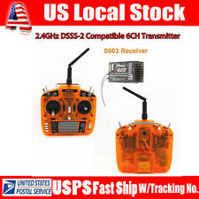 MKron I-six 2.4GHz 6CH DSSS Compatible Transmitter+Receiver For RC Drone US SHIP