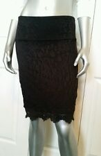 $80.00 100% AUTHENTIC NWT BEBE LACE   PENCIL SKIRT SIZE XS