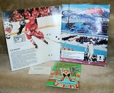 United States Olympic winter stamp collecting kit
