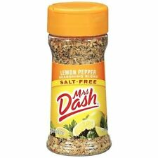 Mrs Dash Lemon Pepper Salt-Free Seasoning Blend 2.5 oz Bottle