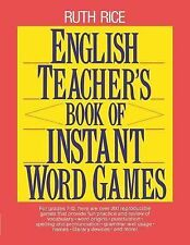 English Teacher's Book of Instant Word Games