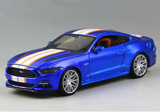 Maisto 1:24 2015 Ford Mustang GT Diecast Model Racing Car Collection Toy New