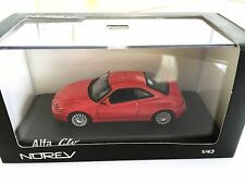 Alfa Romeo GTV 2003 - Red 1:43 NOREV DIECAST MODEL CAR
