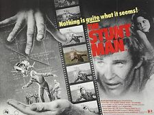 "The Stunt Man 16"" x 12"" Reproduction Movie Poster Photograph"