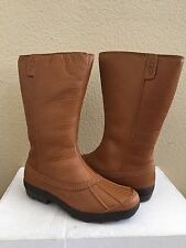 UGG BELFAIR CHESTNUT CLASSIC DUCK TOE WATERPROOF Boot US 7.5 /EU 38.5 /UK 6