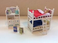 Calico Critters Children's Bedroom White Bunk Beds Furniture