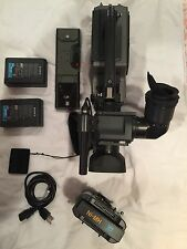 Sony DSR-250 12x 3CCD Digital Video Camera Recorder Professional W/extra