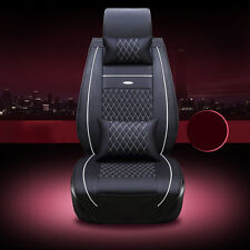 Fit Honda Accord Luxury Auto Car Seat Cover Cushion Pad 3D Surrounded PU Leather