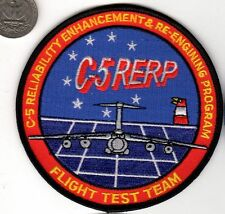 US Air Force C5 GALAXY Flight Test Team Engineer Transport Squadron Patch USAF