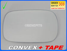 Wing Mirror Glass VOLVO XC70 2000-2007 CONVEX + TAPE Left Side #P010