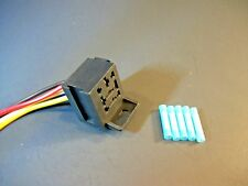 BRC-01001  Universal relay connector plug pigtail harness 4 or 5 terminal