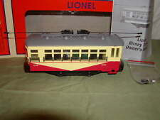 Lionel 6-82412 Reading Birney Trolley Operating Illuminated MIB New 2016