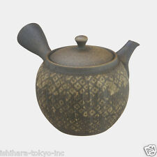 Tokoname Pottery : KOFU - Japanese Pottery Kyusu Tea Pot 400cc ceramic mesh net