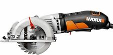 WORX Circular Saw Portable Compact 4.5 in Corded Electric Tool 4 AMP WX429L Wood