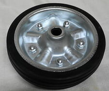 "Jockey Wheel Replacement 200mm Solid Rubber Wheel 8"" FREE PICK UP"