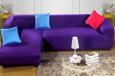 2 Seater 3 Seater L-Shaped Corner Sofa Jacquard Stretch Fitted Sofa Couch Cover