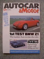 Autocar (19 July 1989) BMW Z1, TVR S, Healey 3500, Caterham 7, Panther,Westfield