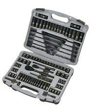 Stanley 92-839 Black Chrome and Laser Etched Socket Set, 99-Piece by Stanley STN