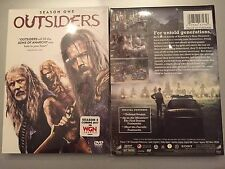 Outsiders: Season One (DVD, 2016, 4-Disc Set) TV SERIES