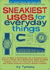Sneakiest Uses for Everyday Things : How to Make a Boomerang with a Business...